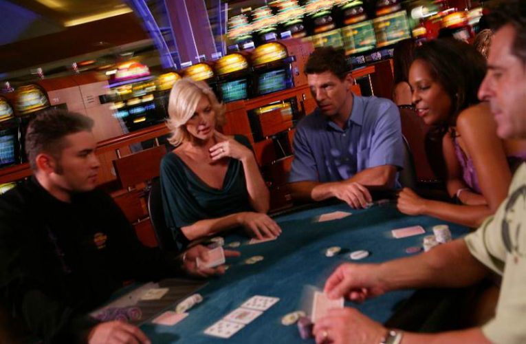 How do e-table games work in casinos?